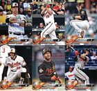 2018 Topps Baltimore Orioles Team Set of 11 Baseball Cards Series 1 New Mint