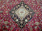 10X13 1960's EXQUISITE FINE HAND KNOTTED ANTIQUE WOOL KASHMAR PERSIAN RUG CARPET