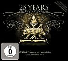 AXXIS - 25 YEARS OF ROCK AND POWER 2 CD + DVD NEW+