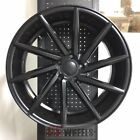 20 SWIRL STYLE SATIN BLACK WHEELS RIMS MAZDA 3 6 MAZDASPEED3 MAZDASPEED6 RX8