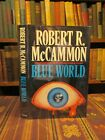 1989 SIGNED McCammon BLUE WORLD AND OTHER STORIES First Edition UK Horror Book