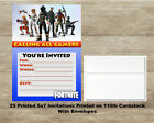 Fortnite Fill In Birthday Invitations Quantity of 25 Cards and 25 Envelopes