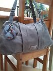 BEAUTIFUL GREY LEATHER KIPLING BAG
