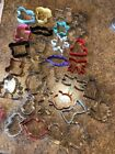 mixed LOT 30 COOKIE CUTTERS cookie cutter collection set all occasions holidays