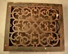 Architectural Rustic Cast Iron Floor Grate Heating Vent Floor Heat Register