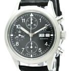 Polished IWC Mechanical Flieger Chronograph Automatic Watch IW370603 BF319819