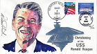 WARREN REED hand signed painted 2000 RONALD REAGAN Wild Horse cachet 41/50