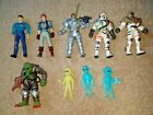 MIXED LOT of 9 4 Scale ACTION Figures  WEAPONS Custom ALIENS