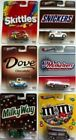 HOT WHEELS Candy Snickers MMs Milky Way MARS Pop Culture SET 6 NEW 164 2013