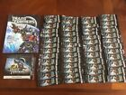 Album 48 Sealed Pack Transformers Dark of The Moon Official Trading Cards Hasbro