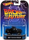 Hot Wheels 2014 Retro Series Back to the Future 1987 Toyota Pickup Die Ca New