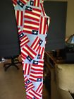 OS American Dreams Americana Light Blue Neon USA Flags Lularoe Legginggs