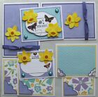 SALE Premade Scrapbook Pages Mat Set Kit 1 MOM Sewn Album Layout pack890