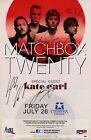 MATCHBOX TWENTY authentic autographed concert signed 2013 tour poster ROB THOMAS