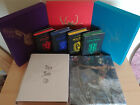 ALL Harry Potter Signed Deluxe illustrated Slipcase Collectors Editions Bundle