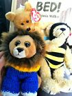 Lot of Beezee Cecil and Cashew ty beanie babies