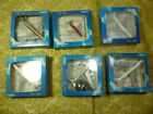 LOT OF 6 ASSORTED SCHABAK SILVER WINGS 1600 DIECAST AIRPLANES MINT CONTENTS