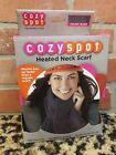 SCRF825 Battery Operated Heated Scarf Slate Gray Electric Sunbeam HOT on the GO