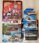 hot wheels johnny lightning hearses ecto 1 ghostbusters set of 5