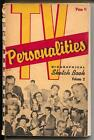 TV Personalities Biographical Sketch Book Vol 2 1956 Alfred Hitchcock VG