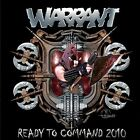 WARRANT - READY TO COMMAND 2010   CD NEW+