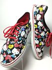 VANS Hello Kitty Shoes Sneakers Lace Up Off the Wall 3T75 Unisex Men 7 Women 8.5