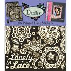 Scrapbooking Crafts Stickers Dazzles Painted Lace Lovely Flowers Flourish Dream
