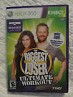 Biggest Loser Ultimate Workout Microsoft Xbox 360 2010 Complete w Manual
