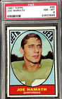 1967 TOPPS AFL FOOTBALL COMPLETE SET (132) ALL SGC & PSA INVESTMENT GRADE