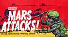 2012 Topps Heritage MARS ATTACKS! Trading Cards Sealed HOBBY BOX Sketch Insert
