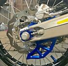2018 - 2020 HUSQVARNA TE 250i & TE 300i REAR BRAKE DISC GUARD BLUE