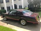 1987 Chevrolet Monte Carlo SS Aero Coupe Aero Coupe 1,780 Org. Miles! T Tops 1 owner for decades showroom new!!