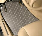 Diamond Plate Vinyl Floor Mats Front Only CUSTOM For Jeep