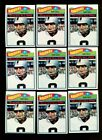 1977 TOPPS #320 RAY GUY LOT OF 12 MINT F103117