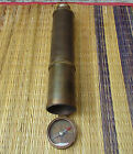Antique Brass Telescope 32 Inch Spy Glass Telescope With Direction Compass Gift