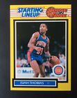 ISIAH THOMAS 1989 KENNER STARTING LINEUP ONE ON ONE CARD PSA BGS PISTONS