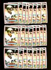 1980 TOPPS #93 ARCHIE MANNING LOT OF 38 MINT F97531