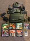 Turbo Grafx 16 System Console, 3 Controllers, 8 Games