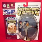 1995 BOB FELLER~COOPERSTOWN COLLECTION BASEBALL STARTING LINEUP~NEW WITH CARD