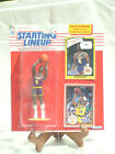 1990 KENNER SLU STARTING LINEUP NBA FIGURE & CARDS BYRON SCOTT ~ LAKERS ~ NIP