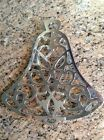 Vintage Silver Plate Bell Shaped Trivet, Also Decor, IOB