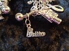 Be Positive Charm Weight Loss Motivation Charm for Weight Watchers Ring