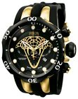 Invicta Reserve Venom Limited Edition Gold Chronograph 1000m Ultra Rare Swiss