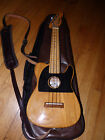Kiwaya KWave Rock Uke Electric Style Ukulele w Case