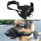 Soft Nylon Pet Dog Muzzle Mouth Grooming No Bark Bite Adjustable Safety L XL XXL