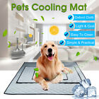 Pet Cooling Mat Non Toxic Cool Pad Cooling Pet Bed for Summer Dog Cat Puppy