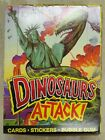 1988 Topps DINOSAURS ATTACK! Unopened Trading Card Box (48 packs) With Poster
