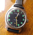 Kienzle Alfa diver style wristwatch with green luminous markers running