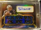 Ryan Mallett 18 2011 Topps Triple Threads Auto Jersey Patch Autograph Card