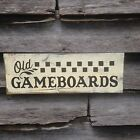 Hand made Old Checkerboard Sign Primitive Rustic Country Home Decor